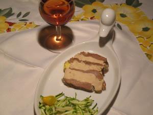 Marbré au foie gras