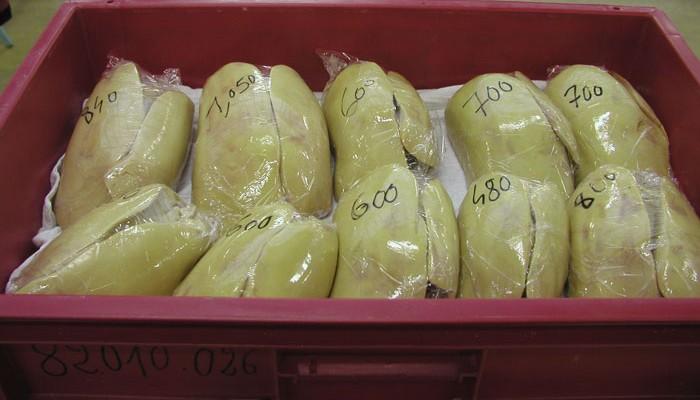 Foie gras entier pret à cuisiner